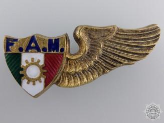 Mexico, Republic. An Air Mechanic Wing, c.1940