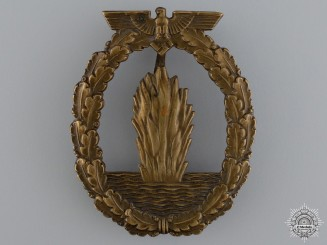 A Minesweeper War Badge; Typical Junker