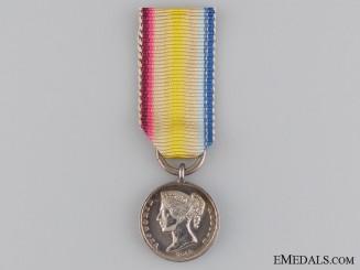 A Miniature 1842 Cabul Campaign Medal