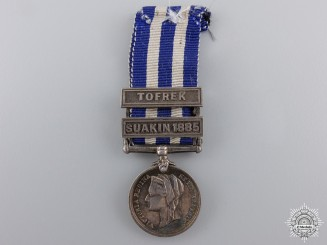 A Miniature 1882 Egypt Medal for Tofrek