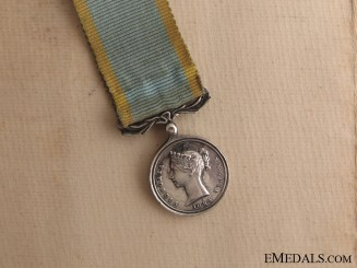 A Miniature Crimea Medal