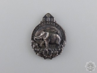 A Miniature German Colonial Honor Badge