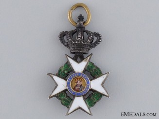 A Miniature Greek Order of the Redeemer