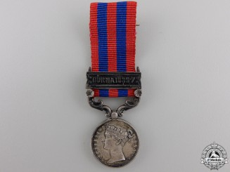 A Miniature India General Service Medal; Burma 1885-7
