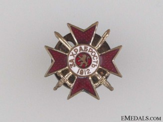 A Miniature Military Order of Bravery