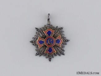 A Miniature Order of Merit of Liechtenstein