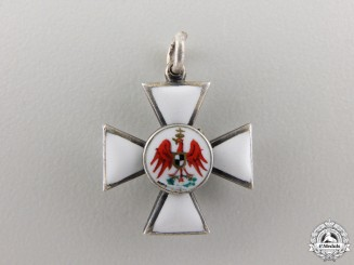 A Miniature Prussian Order of the Red Eagle
