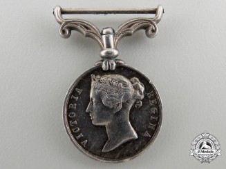 A Miniature Second China War Medal 1857-1860