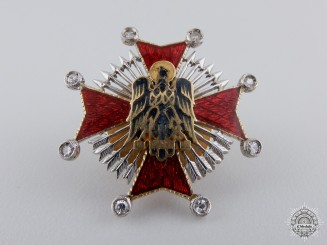 A Miniature Spanish Order of Cisneros in Gold & Diamonds