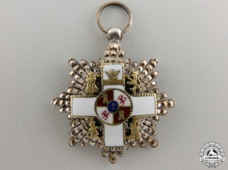 A Miniature Spanish Order of Military Merit