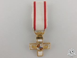 A Miniature Spanish Air Force Order of Merit