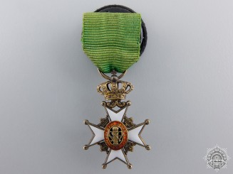 A Miniature Swedish Order of Vasa
