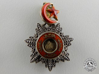 A Miniature Turkish Order of Medjidie (Mecidiye)