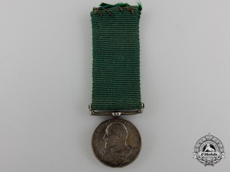 A Miniature Volunteer Long Service Medal
