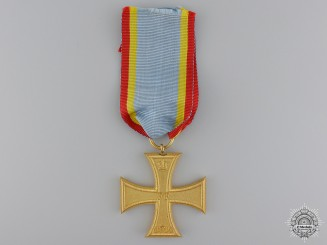 A Mint 1914 Mecklenburg Schwerin War Cross