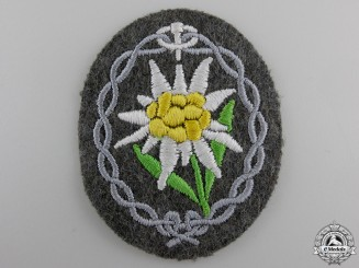 A Mint Army Edelweiss Arm Badge