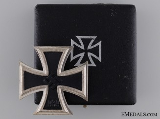 A Mint Cased Iron Cross First Class by Klein & Quenzer
