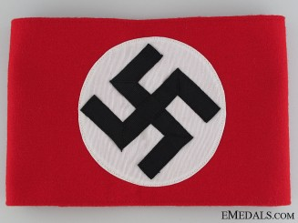 A Mint Early War NSDAP Arm Band