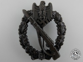 A Mint Infantry Assault Badge; Bronze Grade