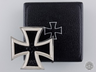 A Mint Iron Cross First Class by Wilhelm Deumer