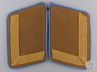 A Mint Pair of Ortsgruppe Level Collar Tabs; 2nd Pattern