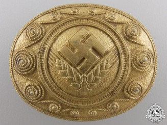 A Mint RADwJ Personnel's Commemorative Service Brooch by Assmann
