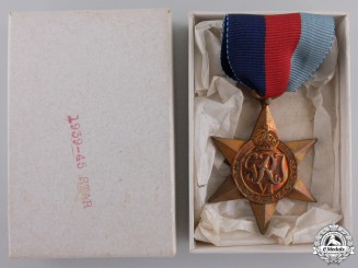 A Mint Second War 1939-1945 Campaign Star