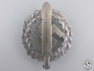 A Mint Silver Grade SA Sports Badge by W.Redo