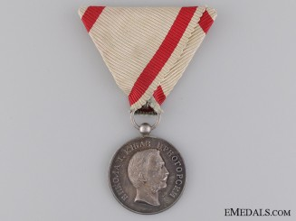A Montengro Silver Medal for Zeal