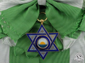 A Moroccan Order of Mehdi; Grand Cross