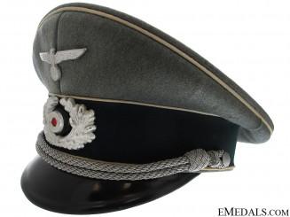 A Named Infantry Officer's Visor Cap