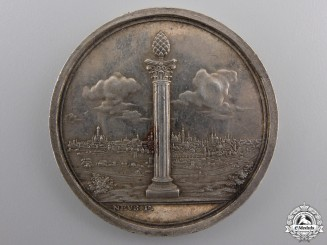 A Napoleonic 1796 Augsburg Militia Service Medal