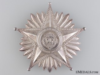 A National Merit Order of Paraguay; Grand Cross Star