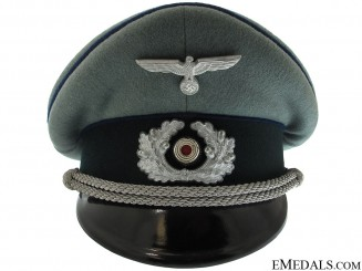 A Near Mint Army Medical Officer's Visor Cap