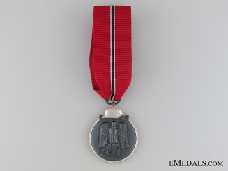 A Near Mint WWII German East Medal 1941/42; Marked