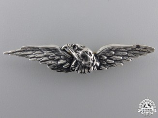 A New Zealand 8th Southland Regiment Eagle Wings Badge