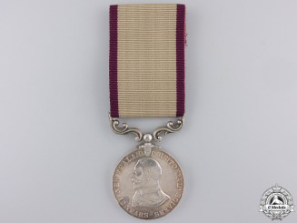 A New Zealand Territorial Service Medal to the Otago  Hussars