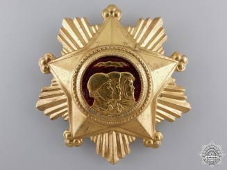 A North Korean Order of Military Service Honour; 1st Class