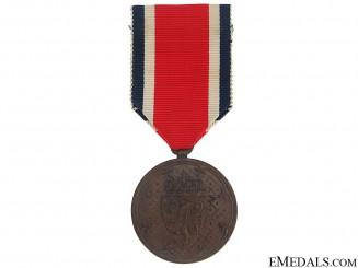 A Norwegian Korean War Service Medal 1951-54