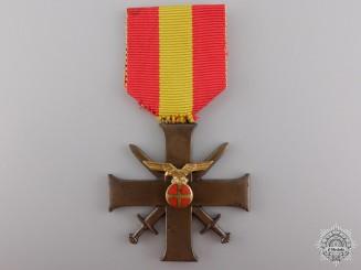 A Norwegian Merit Cross with Swords 1940-45; Quisling Issue
