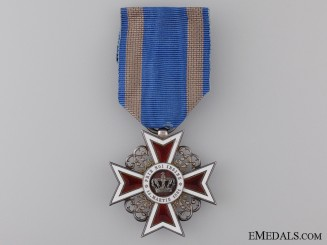 A Order of the Crown of Romania, Knight; Type II 1881-1932