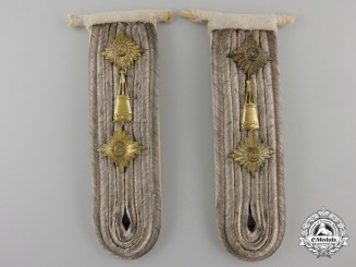 A Pair of Kriegsmarine Mine Specialist Shoulder Boards