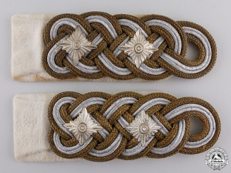 A Pair of Luftwaffe Shoulder Boards for General der Flieger