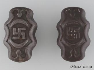 A Pair of Third Reich Period Faucet Handles
