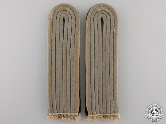 A Pair of Waffen SS Shoulder Boards