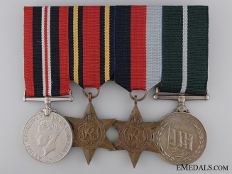 A Pakistani Second War Medal Bar