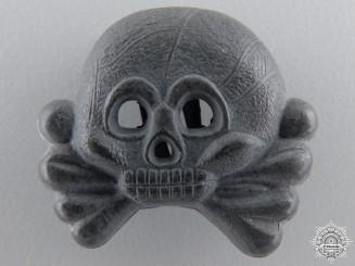 A Panzer Collar Tab Skull