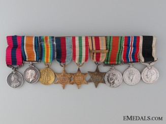 A Period New Zealand Distinguished Conduct Medal Bar