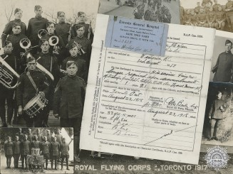 A Photograph Collection to the Royal Flying Corps 1917