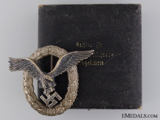 A Pilot's Badge by Juncker
